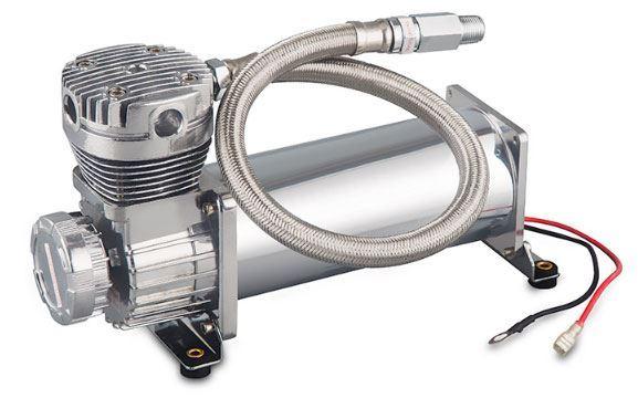 Kompresor 12V celokovový, 72l/min