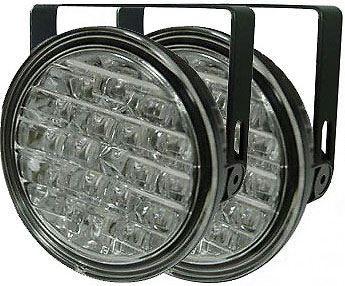 Světla pro denní svícení DRL9R 18xLED 12/24V, vadné