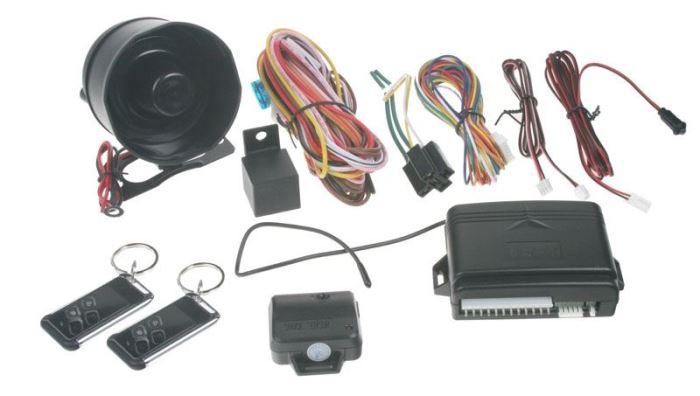 Autoalarm SPY09 s dálkovým ovládáním