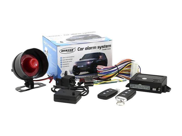 Autoalarm VERTEX CA14 s dálkovým ovládáním