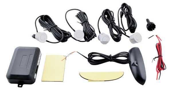 Parkovací alarm se 4 senzory a LED displejem, bezdrátový DOPRODEJ