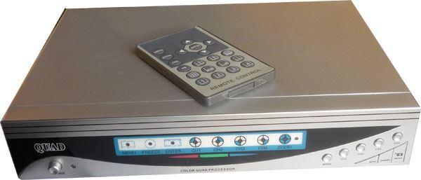 Kvadrátor barevný HA-8002H8,4 kamery,rozlišení 720x576 vadný
