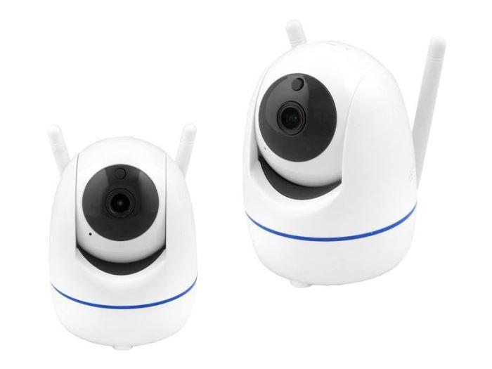 IP kamera WiFi HD, MIC, Intercom, microSD, rotující, LTC