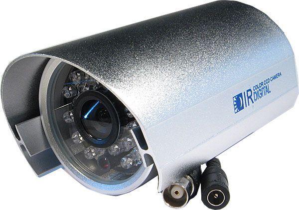 Kamera CCD 700TVL YC-886W, objektiv 3,6mm