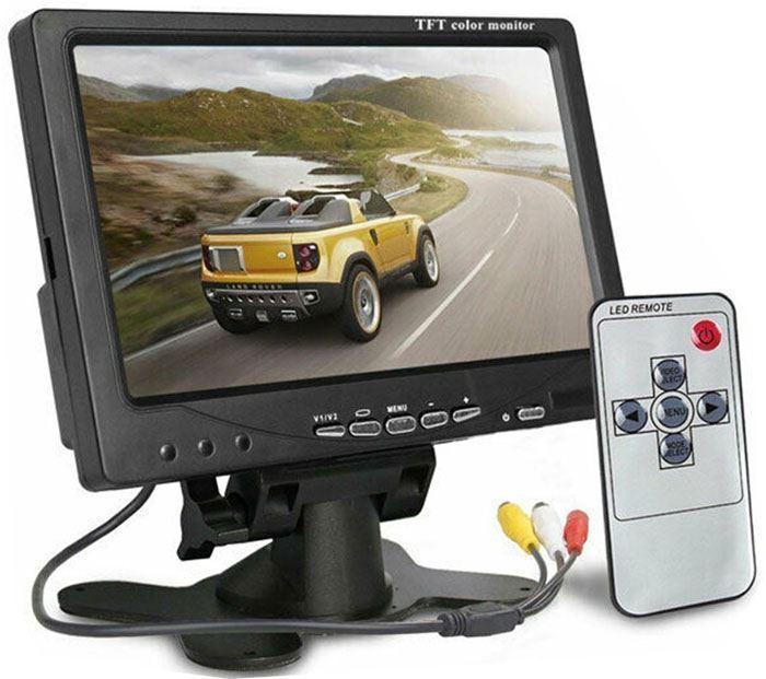 """LED color monitor TFT 7"""" SJ/T343, použitý, špatné zobrazení, viz.foto"""