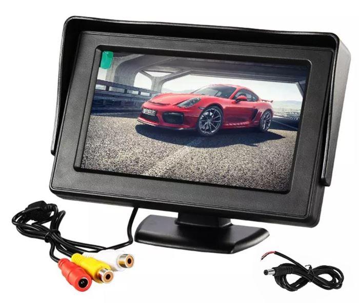 "LCD color monitor TFT 4,3"" JKT-743"