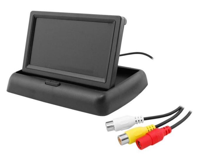 LCD color monitor TFT 4,3""