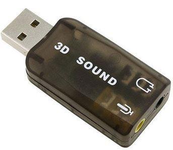 3D zvuková karta se simulací 5.1