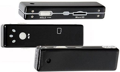 Minikamera AK168 se záznamem AVI+JPEG vadná
