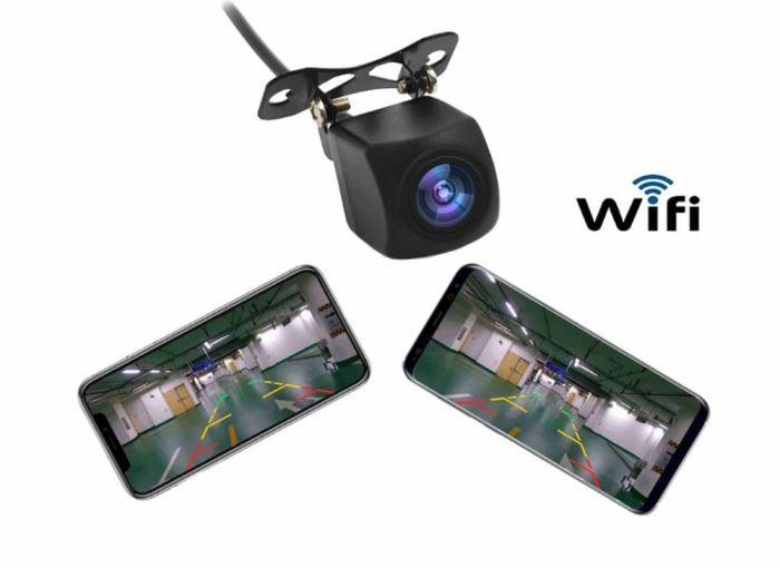 Kamera bezdrátová couvací s WIFI