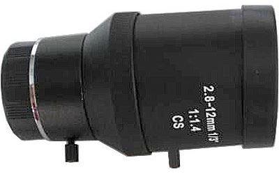Objektiv CS 2,8-12mm s manuální clonou