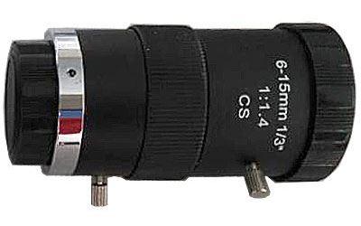 Objektiv CS 6-15mm s manuální clonou