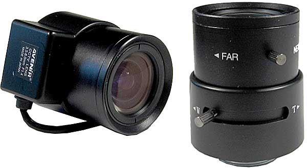 Objektiv CS 3,5-8mm s automatickou clonou DOPRODEJ