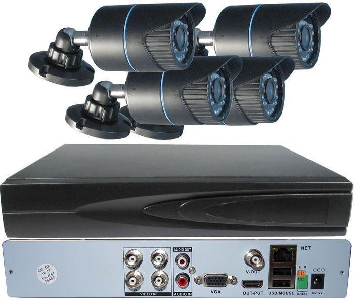 Kamerový systém 720P JW204K-V10 (DVR+4kamery CMOS)