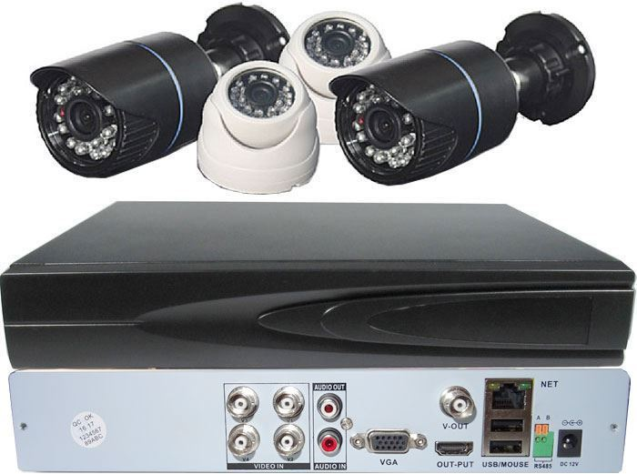 Kamerový systém 720P JW104K-V10 (DVR+4kamery CMOS)