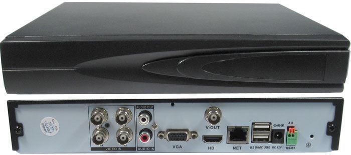 DVR 720P 4kanálový