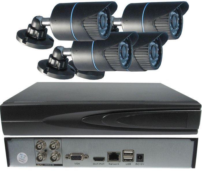 Kamerový systém 720P JW204K-CR5 (DVR+4kamery CMOS)