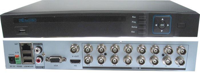 DVR AHD 1080P, 16kanálový  AVR216, 25sn/sec, 2xSATA, DOPRODEJ