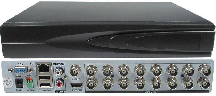 DVR AHD 1080P, 16kanálový,  AVR516C, 10sn/sec