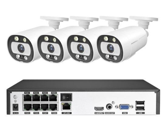 Kamerový systém AHD1080P JW208K-A20 (DVR+8kamer CMOS Full HD) DOPR.