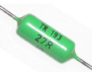 27R  TR193, rezistor 1W metaloxid