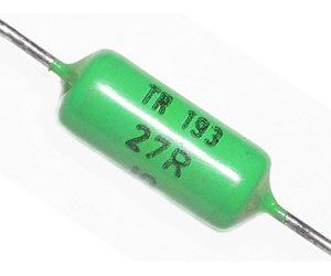 390R TR193, rezistor 1W metaloxid