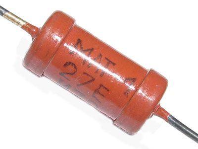 100k MLT-1, rezistor 1W metaloxid