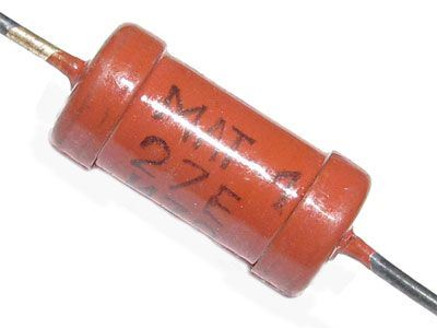1M0 MLT-1, rezistor 1W metaloxid
