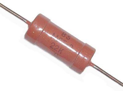 10k MLT-2, rezistor 2W metaloxid