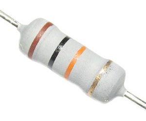 120R 0411, rezistor 2W, 5%, 300ppm, 500V