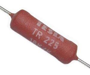 150R TR225, rezistor 4W metaloxid