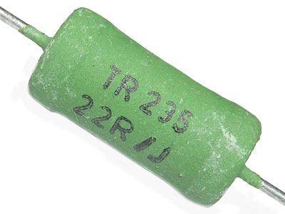 100R TR235, rezistor 4W metaloxid