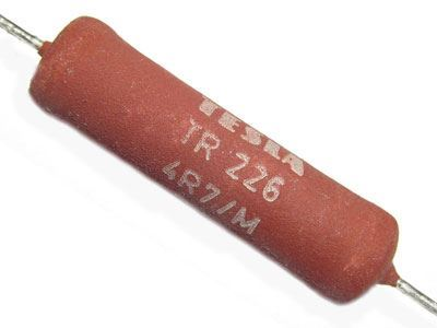 150R TR507, rezistor 6W drátový