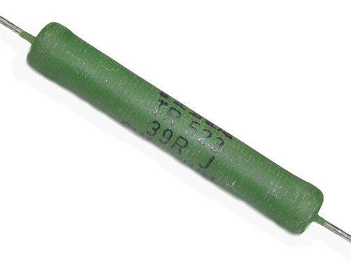 150R TR523, rezistor 6W drátový