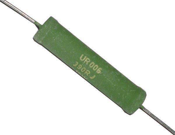 1k0 UR006, rezistor 15W drátový