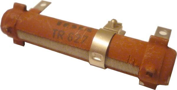 220R TR627, rezistor 15W drátový - chybí odbočka