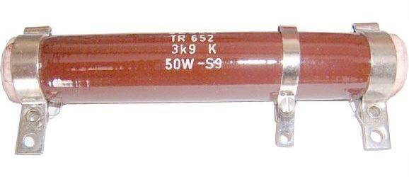 100R TR652, rezistor 50W drátový s odbočkou