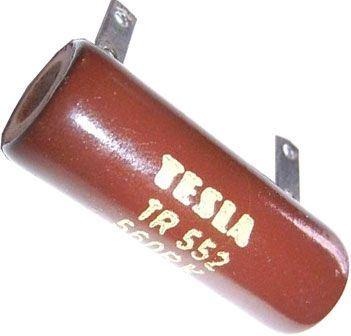 10k TR552, rezistor 15W drátový
