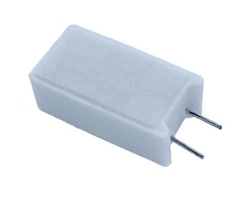 0,10R keramický rezistor 5W radiální,  5%, 300ppm 350V