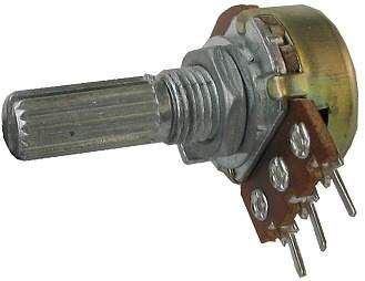 20k/N hřídel 6x13mm, potenciometr otočný