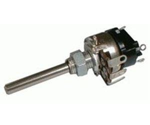 100k/G WN69330 /TP161/ 32A, potenciometr otočný s vypínačem