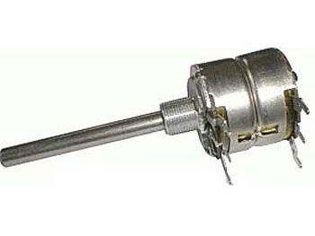 500k/G TP283 60A, potenciometr otočný tandemový