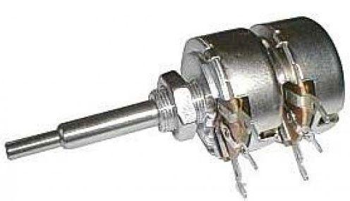 50k/G TP286 32A, potenciometr otočný dvojitý
