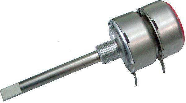 250k/G TP289 60B, potenciometr otočný tandemový