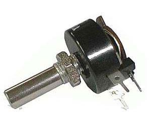 150R/N TP680 23A, potenciometr drátový,hřídel l=20mm