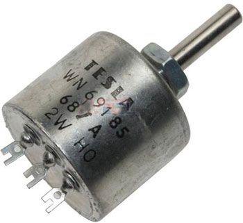 680R/N WN69185, potenciometr drátový 2W