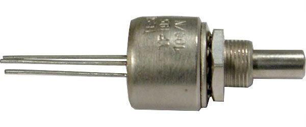 100R/N TP195 20A, potenciometr otočný cermetový