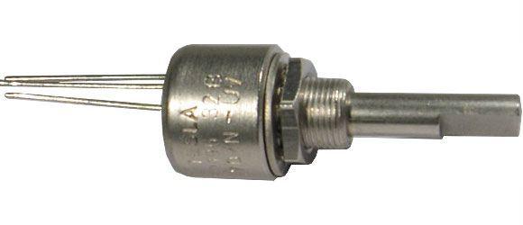 390R/N TP195 32E, potenciometr otočný cermetový