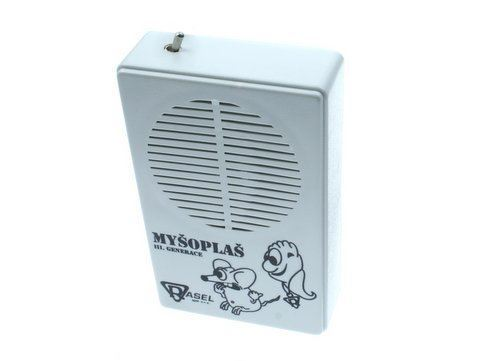 Odpuzovač hlodavců - myšoplaš s vypínačem * III.generace