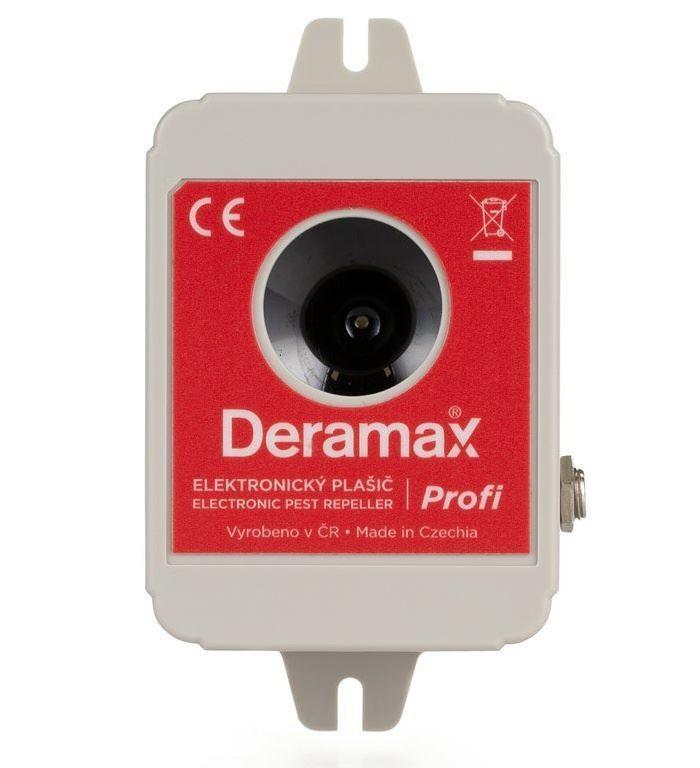 Odpuzovač kun a hlodavců - ultrazvukový DERAMAX-PROFI
